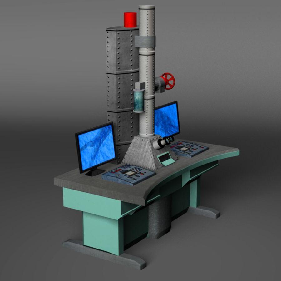 Microscopio elettronico royalty-free 3d model - Preview no. 10