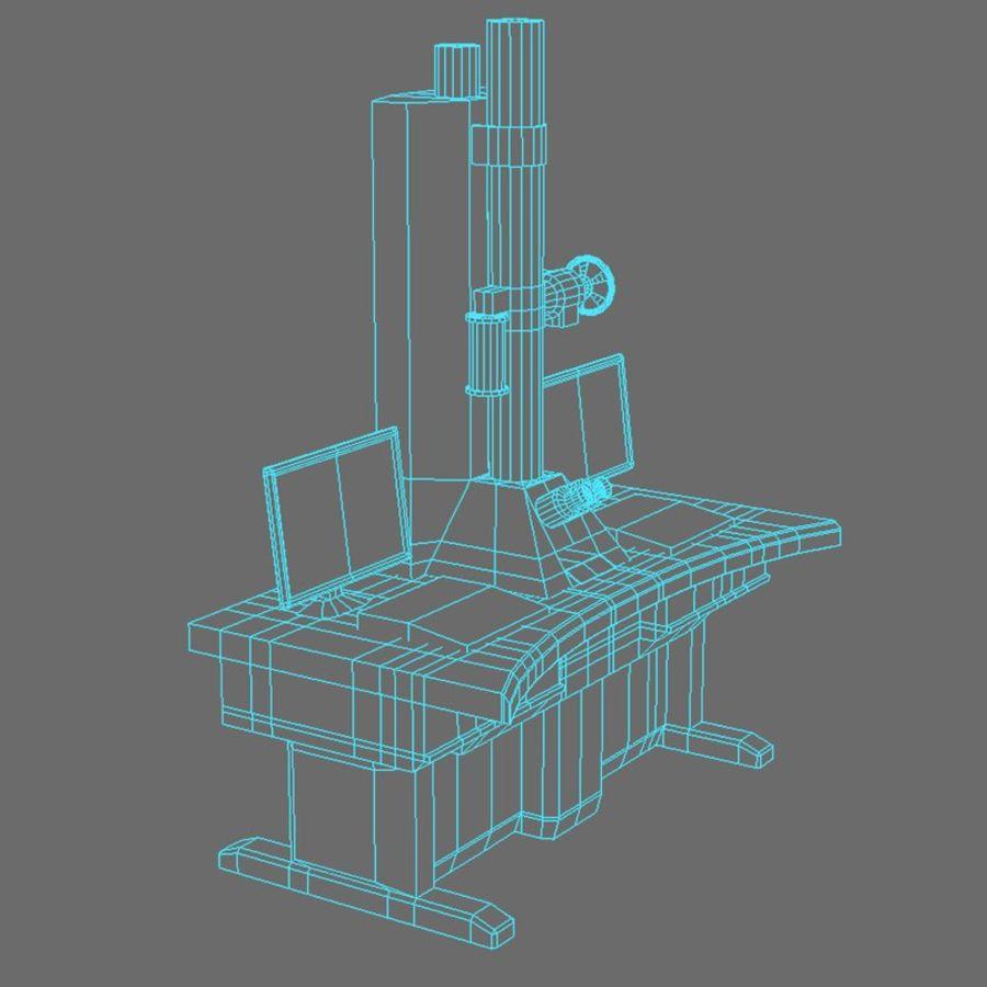 Microscopio elettronico royalty-free 3d model - Preview no. 12