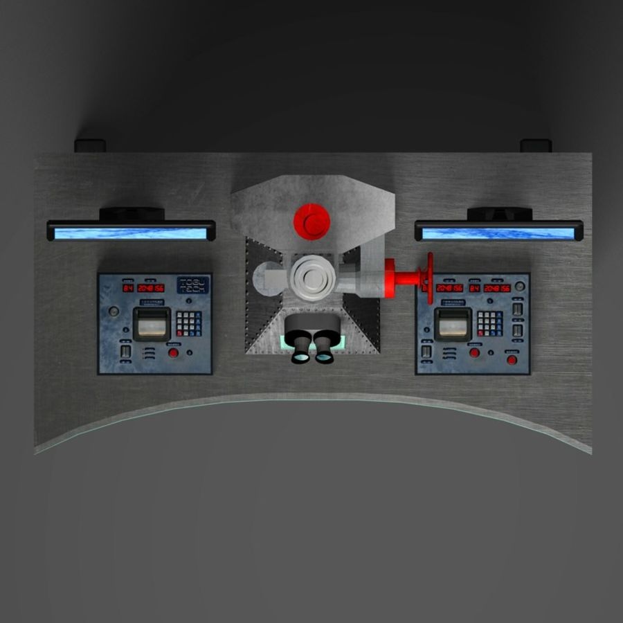 Microscopio elettronico royalty-free 3d model - Preview no. 19
