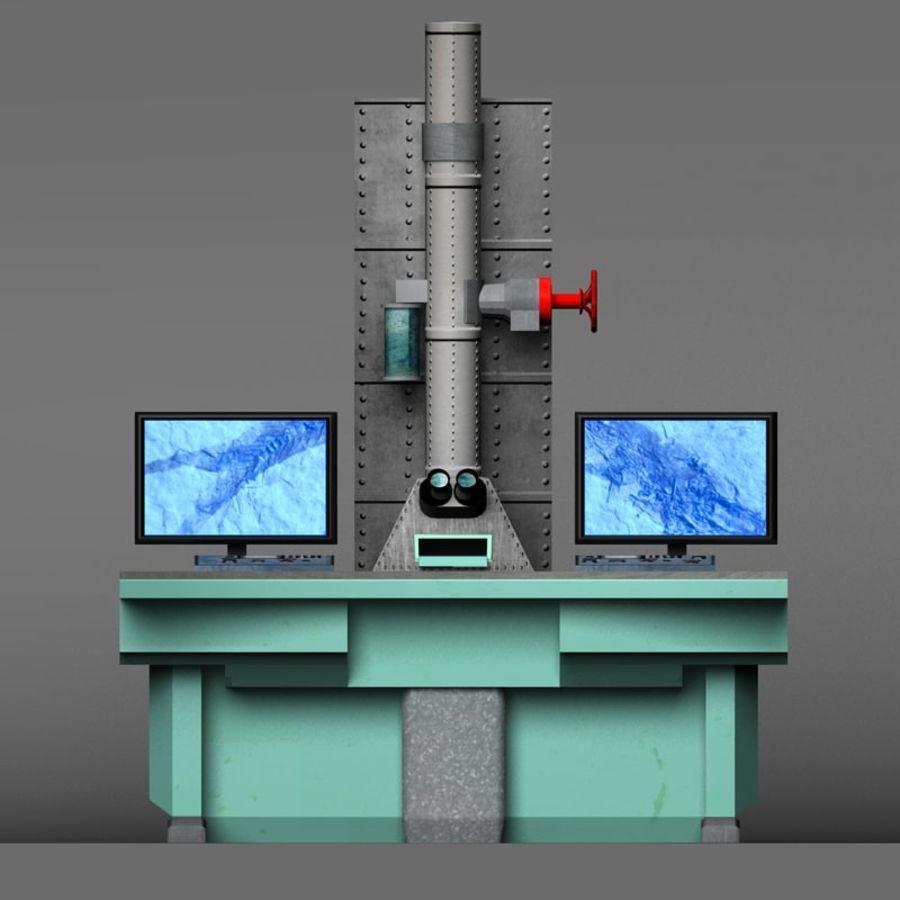Microscopio elettronico royalty-free 3d model - Preview no. 13