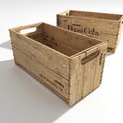 Old Pepsi crate 3d model