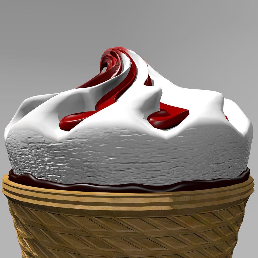 アイスクリームコーン2 royalty-free 3d model - Preview no. 10