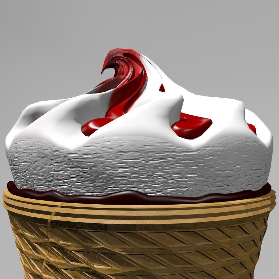 アイスクリームコーン2 royalty-free 3d model - Preview no. 11