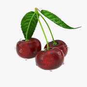 Photorealistic Cherries 3d model