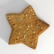 Cookie_star_2 3d model