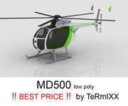 MD500 Skin 3 3d model