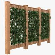 Enrejado de jardín 2 modelo 3d