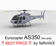 Eurocopter AS350 Avustralya DONANMA 3d model