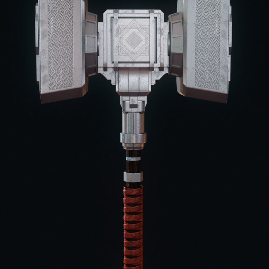 Hammer royalty-free 3d model - Preview no. 2
