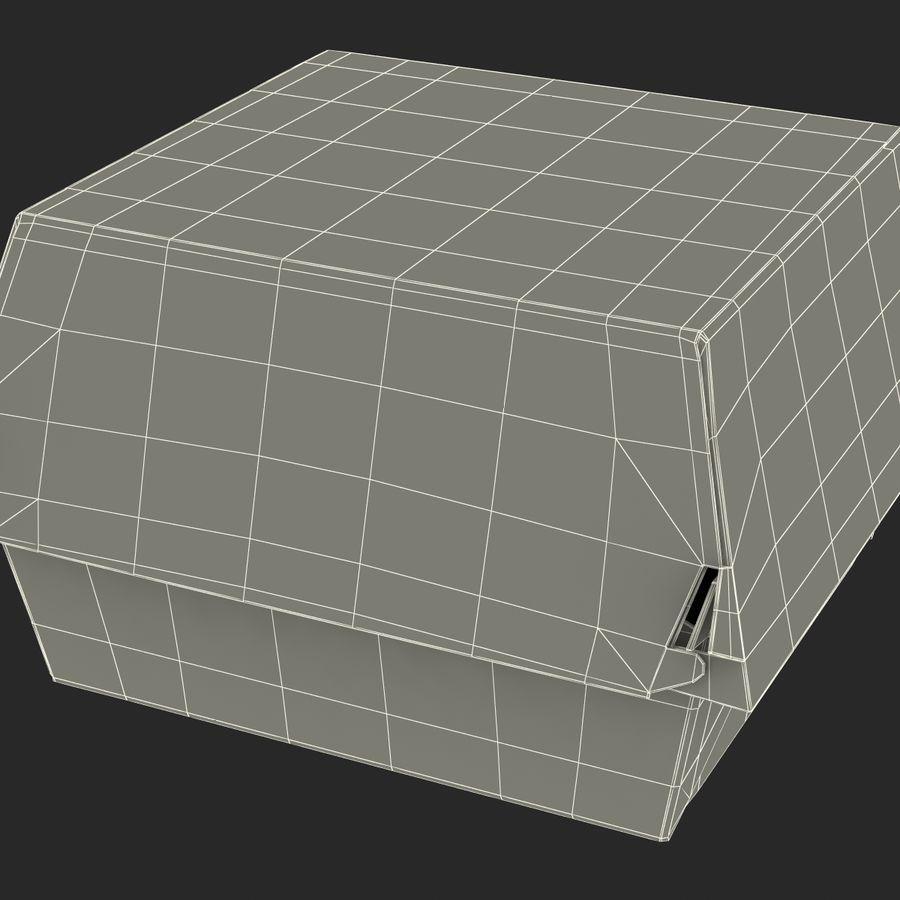Burger Box Generic 3D model royalty-free 3d model - Preview no. 22