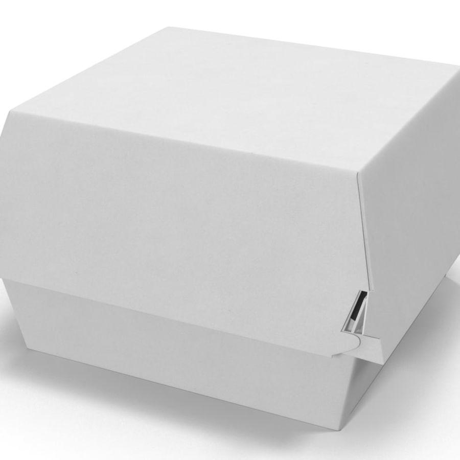 Burger Box Generic 3D model royalty-free 3d model - Preview no. 7