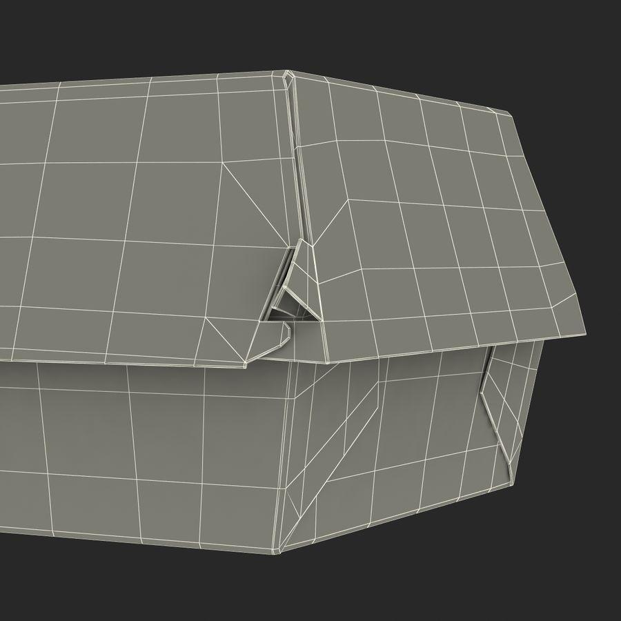 Burger Box Generic 3D model royalty-free 3d model - Preview no. 24