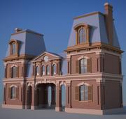 vintage house 3d model