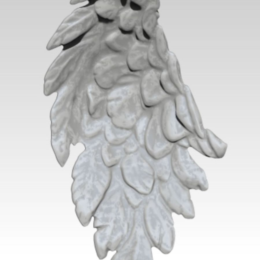 Bird / Angel / Eagle / Animal Wing royalty-free 3d model - Preview no. 1
