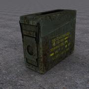Military Ammo Box 3d model