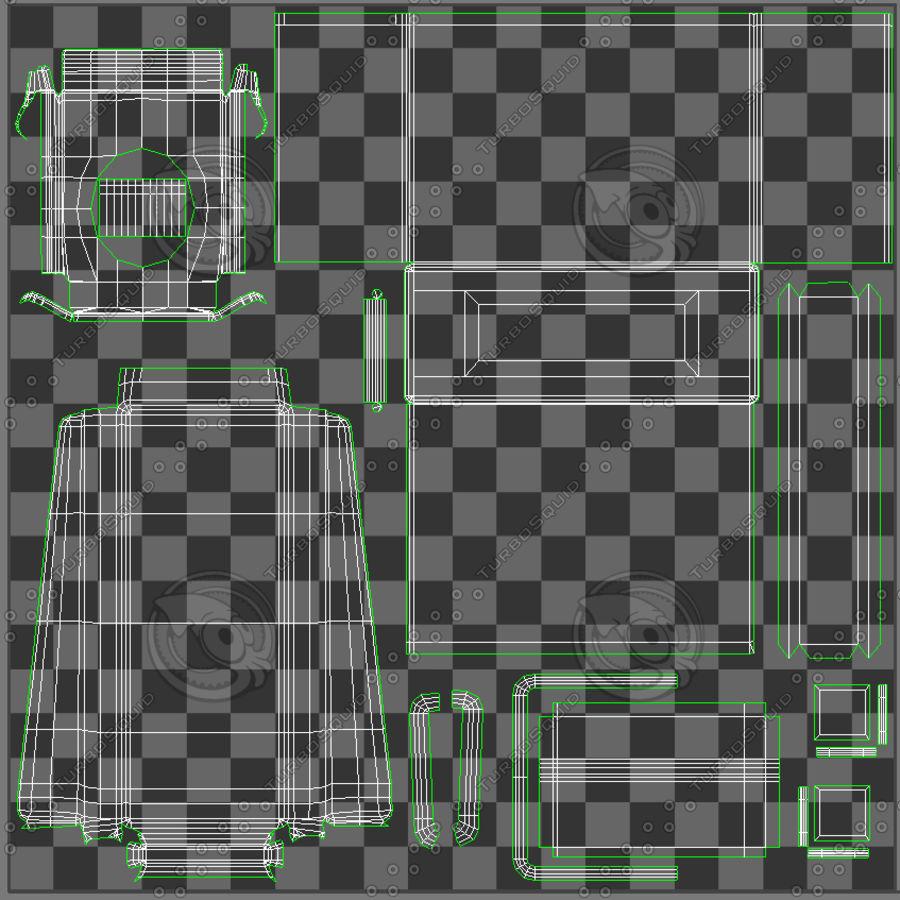 Военный ящик с боеприпасами royalty-free 3d model - Preview no. 14