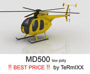 MD500 Jaune 3d model