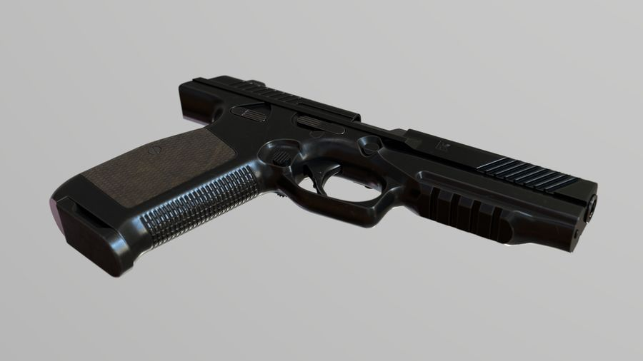Lebedev PL-14 royalty-free 3d model - Preview no. 3