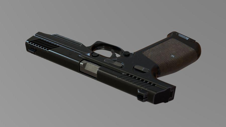 Lebedev PL-14 royalty-free 3d model - Preview no. 4