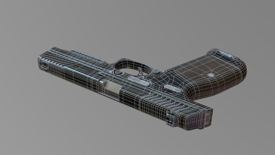 Lebedev PL-14 royalty-free 3d model - Preview no. 11