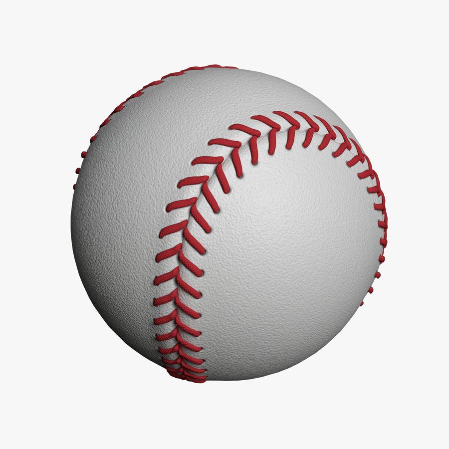 Baseball 3d Model 9 Obj Fbx Dae Blend 3ds Free3d