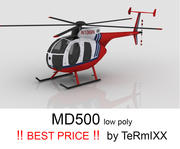MD500 Skin 2 3d model