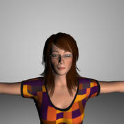 Emily 3d model