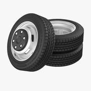 Truck Wheels 3d model