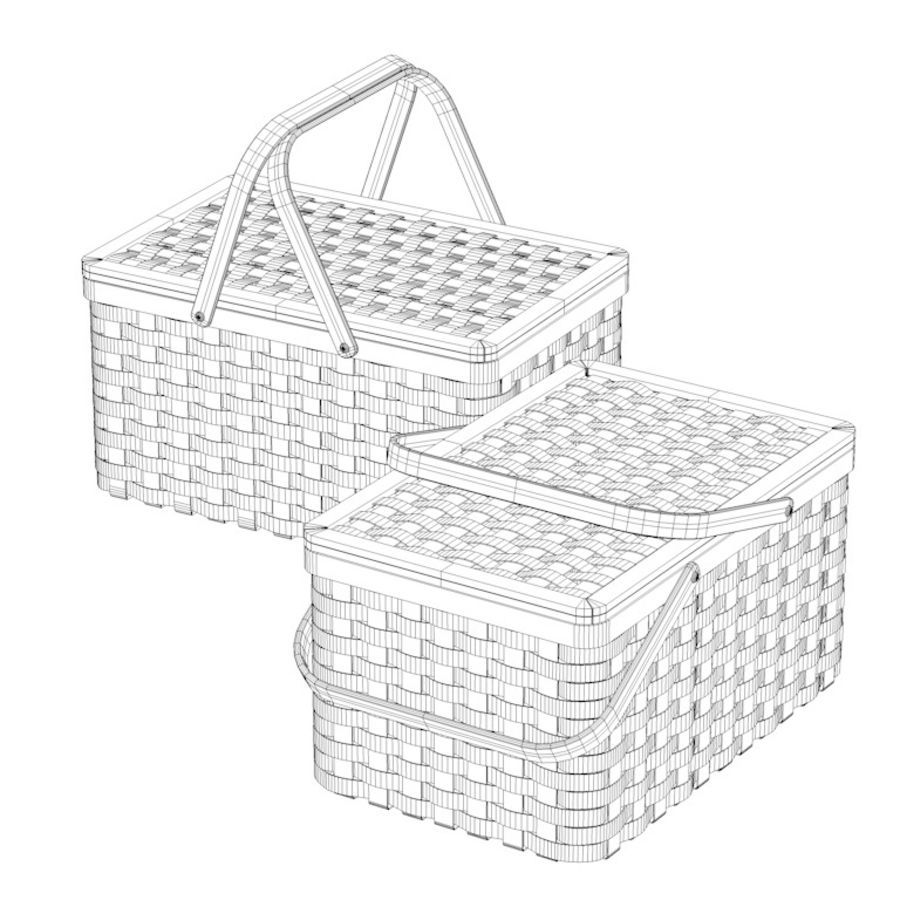 basket royalty-free 3d model - Preview no. 5