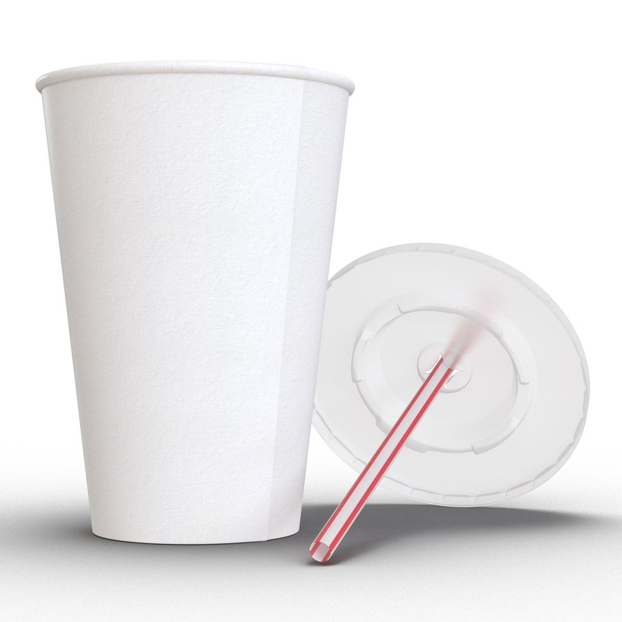 Drink Cup royalty-free 3d model - Preview no. 9