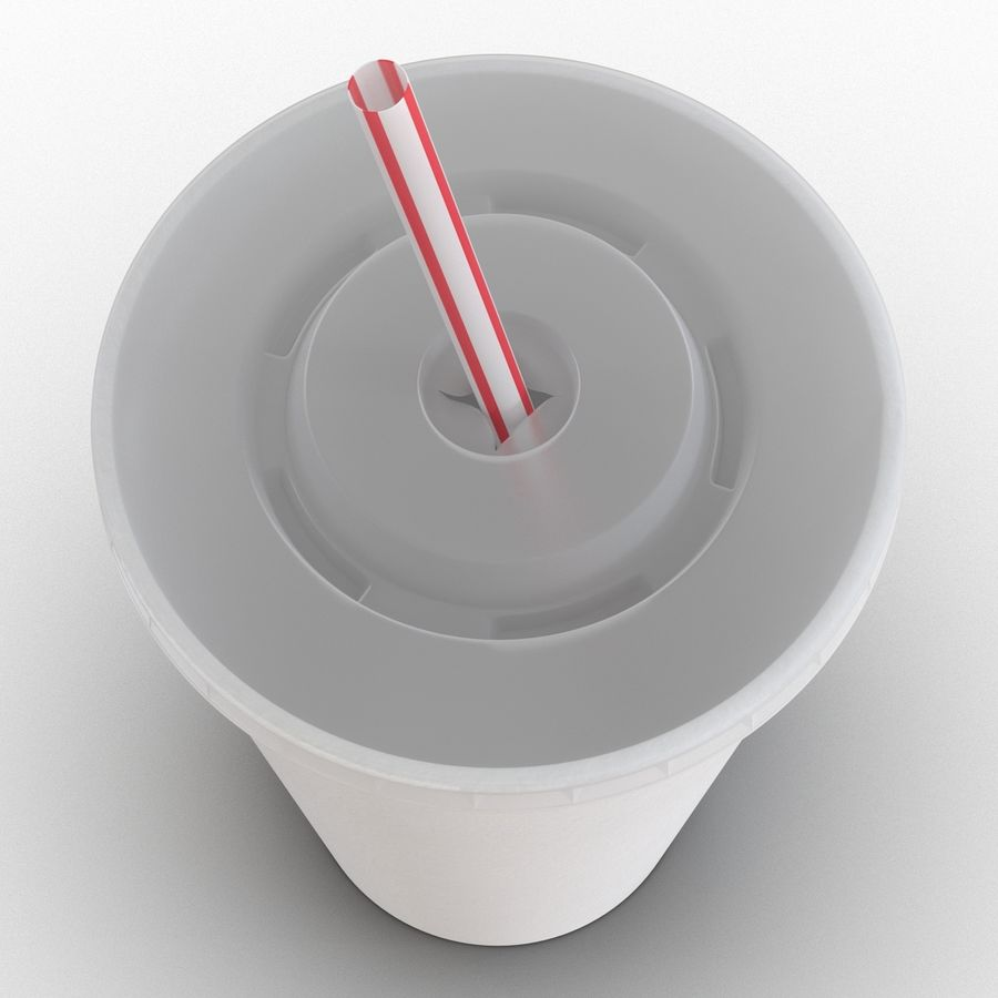 Drink Cup royalty-free 3d model - Preview no. 14