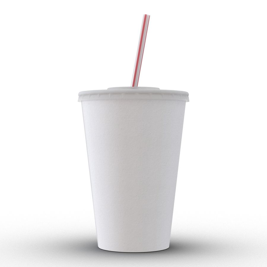 Drink Cup royalty-free 3d model - Preview no. 4