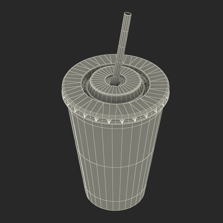 Drink Cup royalty-free 3d model - Preview no. 28