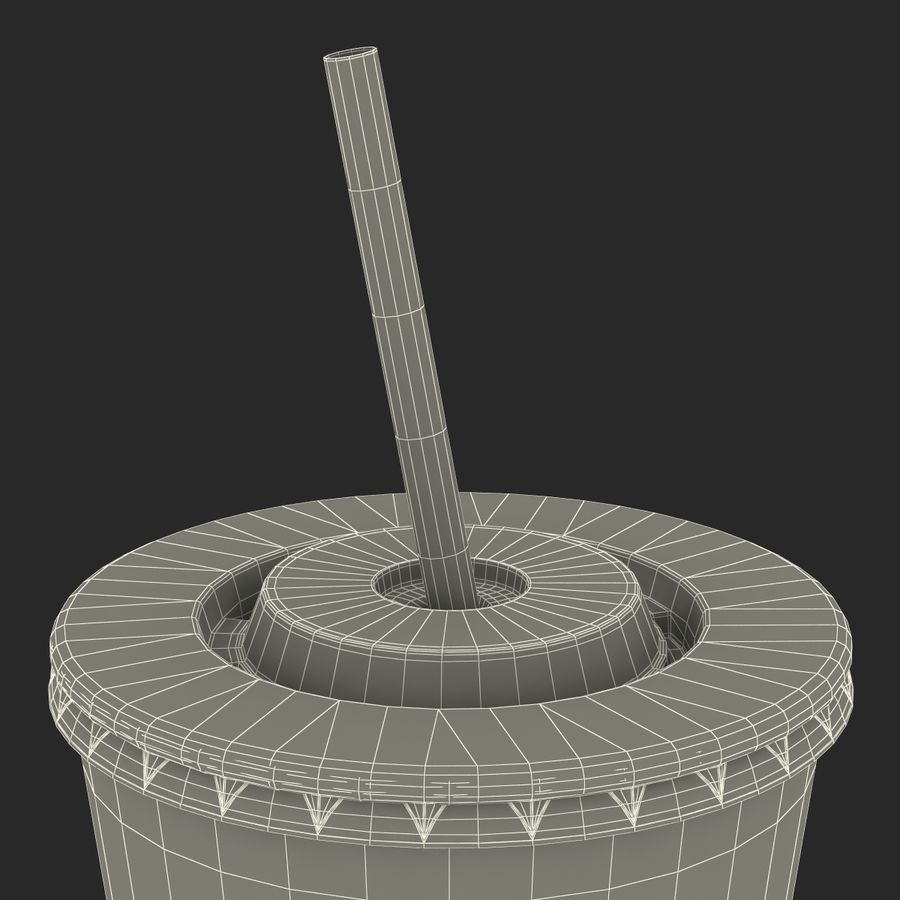 Drink Cup royalty-free 3d model - Preview no. 32