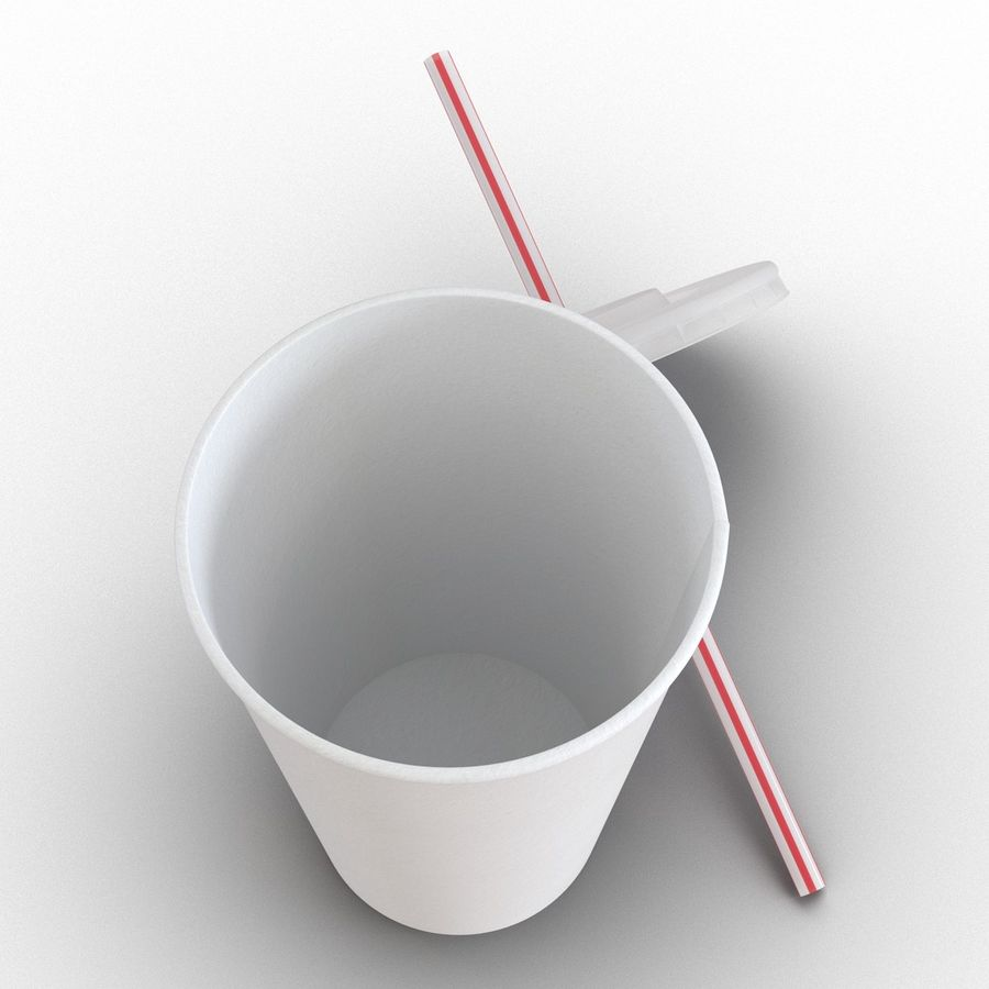Drink Cup royalty-free 3d model - Preview no. 10