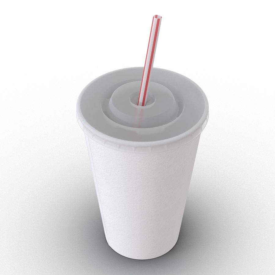 Drink Cup royalty-free 3d model - Preview no. 5