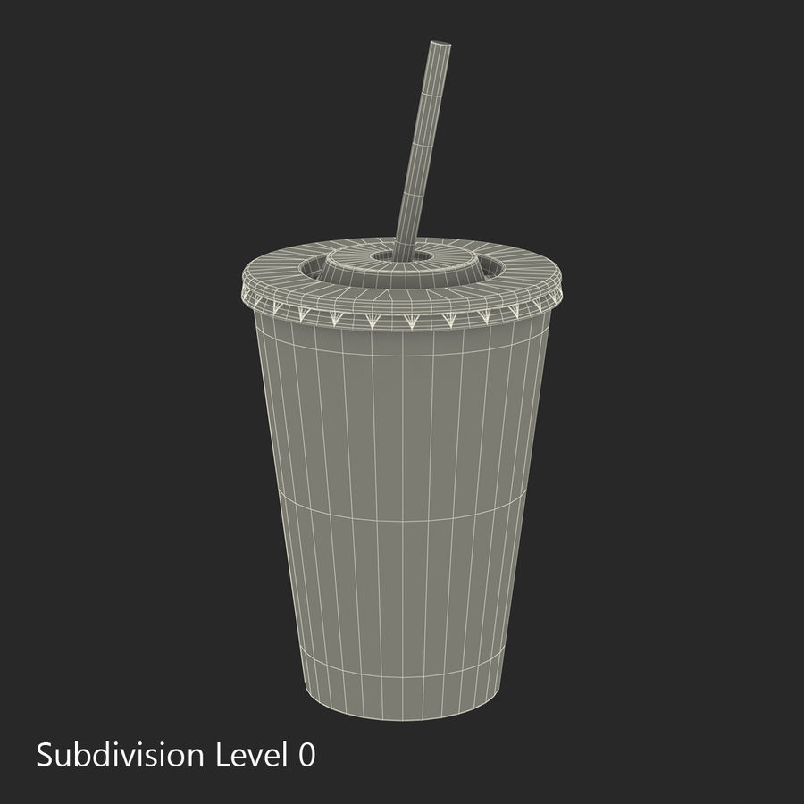 Drink Cup royalty-free 3d model - Preview no. 22