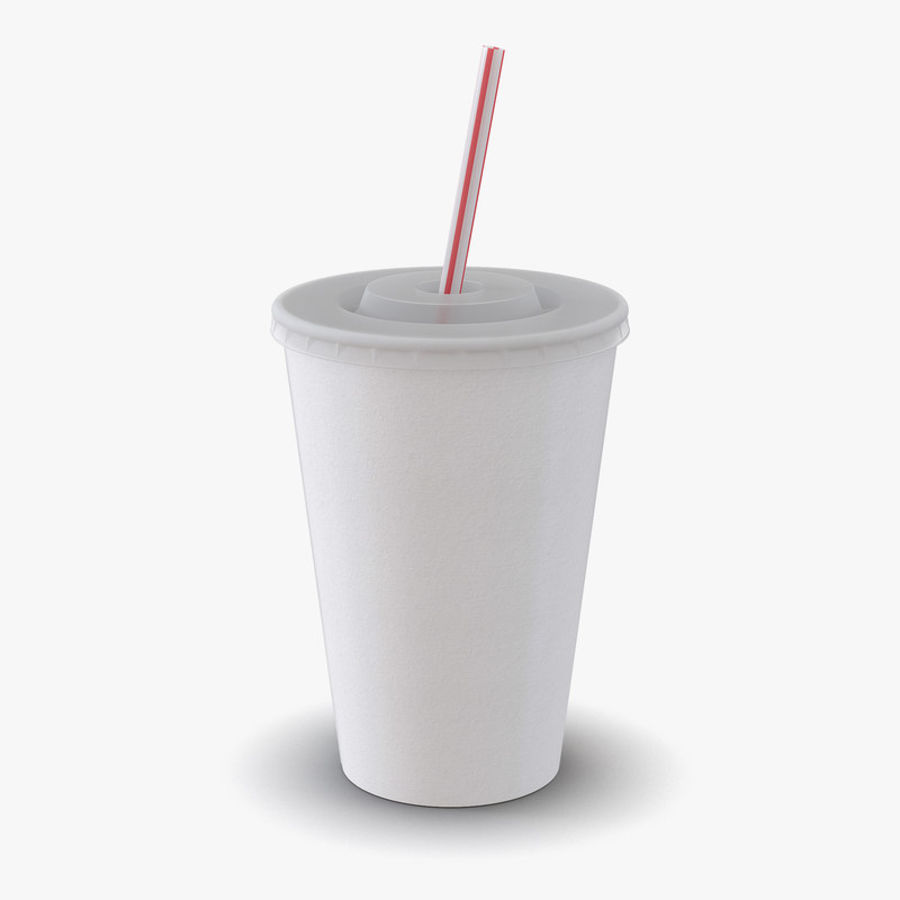 Drink Cup royalty-free 3d model - Preview no. 1