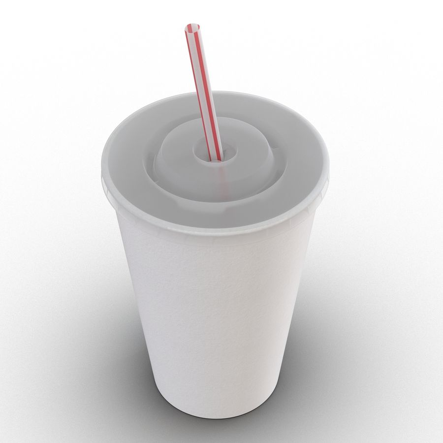 Drink Cup royalty-free 3d model - Preview no. 13