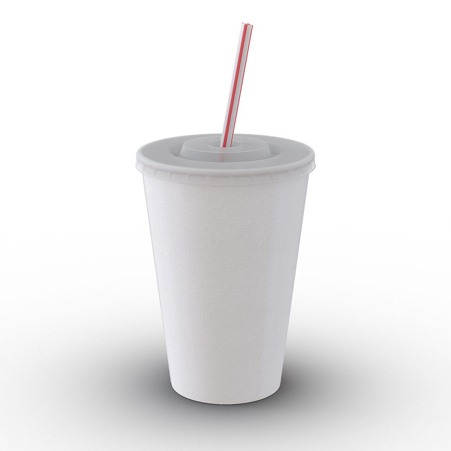Drink Cup royalty-free 3d model - Preview no. 2