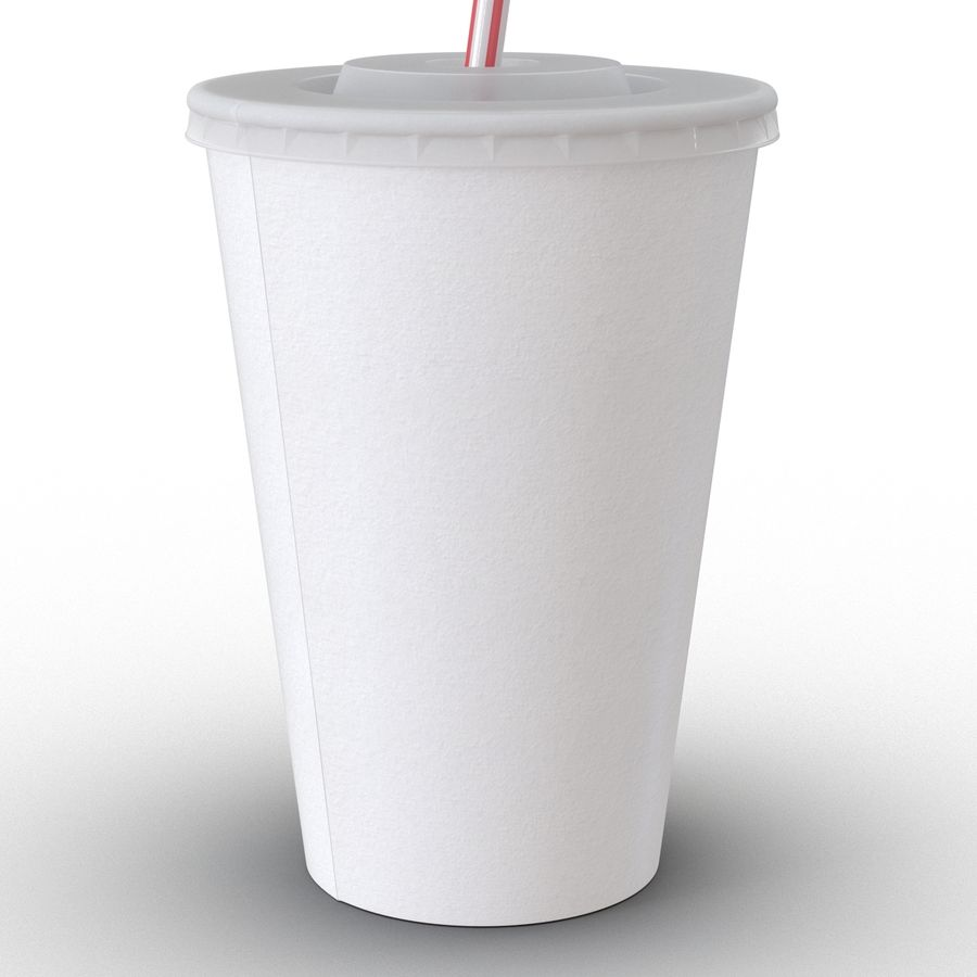 Drink Cup royalty-free 3d model - Preview no. 19