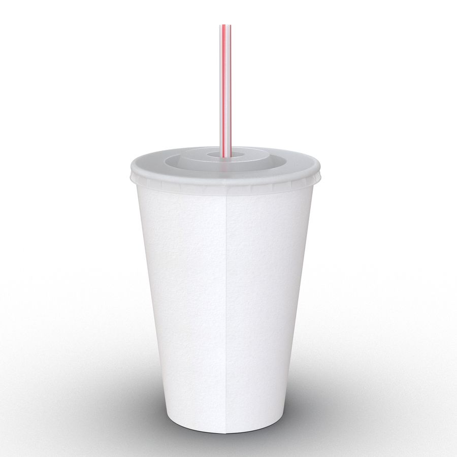 Drink Cup royalty-free 3d model - Preview no. 6