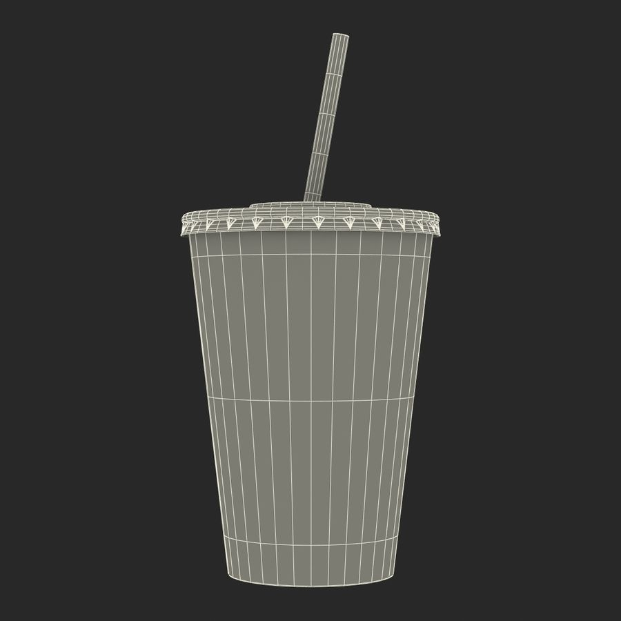 Drink Cup royalty-free 3d model - Preview no. 27