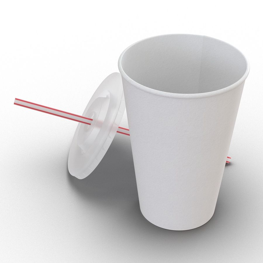Drink Cup royalty-free 3d model - Preview no. 12