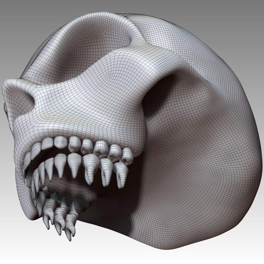 Kafatası royalty-free 3d model - Preview no. 13