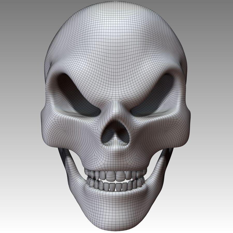 Kafatası royalty-free 3d model - Preview no. 7