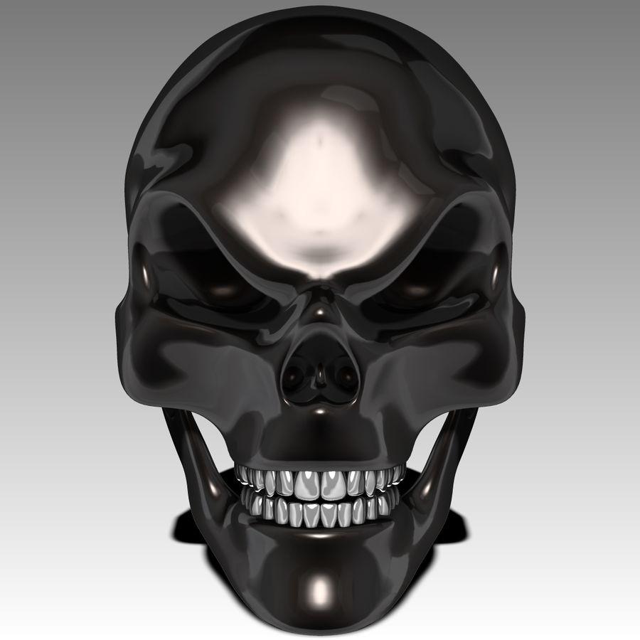 Череп royalty-free 3d model - Preview no. 2