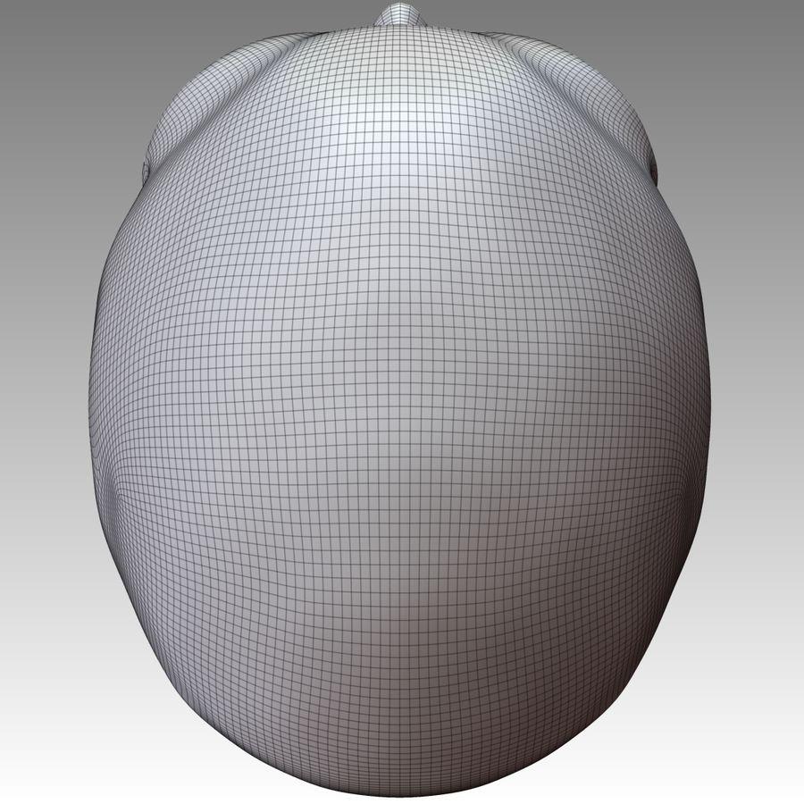 Череп royalty-free 3d model - Preview no. 10