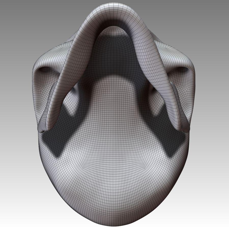 Kafatası royalty-free 3d model - Preview no. 11