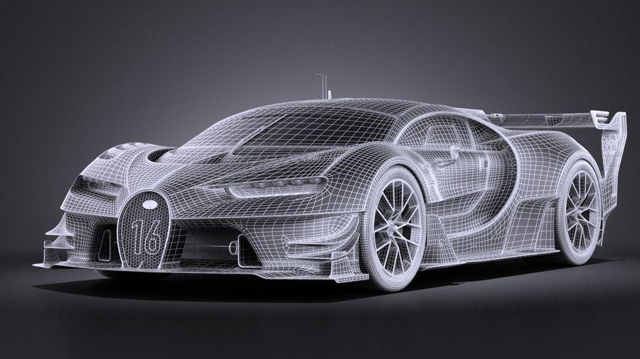 Bugatti Vision Gran Turismo Concept 2015 VRAY 3D Model $129 - .obj on lightning paint job corvette, lightning man, lightning ford,